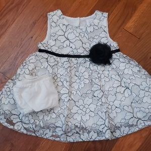 3 Piece Baby Girl Dress